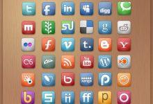超赞!12套你没见过的社交媒体 & 社交网站图标-小李子的blog