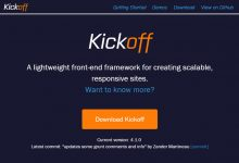 Kickoff – 创造可扩展的,响应式的网站-小李子的blog