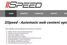 IISpeed – 自动优化网页内容,提升 IIS 服务器性能-小李子的blog