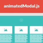 AnimatedModal.js – CSS3 全屏模态窗口-小李子的blog