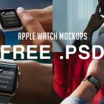 免费的 Photoshop Apple Watch 原型设计素材-小李子的blog