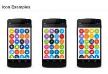 Droidicon – 1600+ 漂亮的 Android 图标-小李子的blog