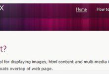 非常流行的十款 jQuery 插件推荐-小李子的blog