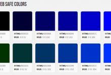 设计手册——216网页安全色大全【附颜色编码对照表】-小李子的blog