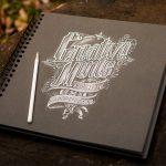创意欣赏:20幅字体排版(Typography)素描-小李子的blog