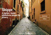 Skippr – 轻量、快速的 jQuery 幻灯片插件-小李子的blog