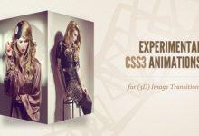 CSS3 动画实现的 3D 图片过渡特效-小李子的blog