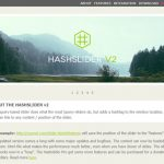 Hashslider – 带有 Hash 标签功能的 jQuery 内容滑块-小李子的blog