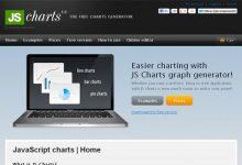 向 Web 开发人员推荐35款 JavaScript 图形图表库-小李子的blog