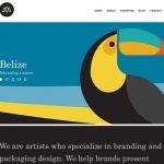 经典网页设计:12个使用醒目色彩的网站作品示例-小李子的blog