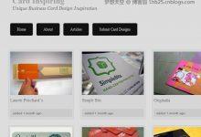 国外创意名片设计欣赏的200佳网站推荐(系列十三)-小李子的blog