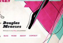 优秀设计:纹理在网页设计中的20个应用示例-小李子的blog