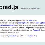 GOCR.js – 使用 JS 识别出图片中的文本-小李子的blog