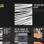 带给你灵感的优秀个人博客设计案例-小李子的blog