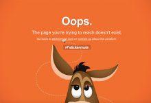 错误的艺术!20个创意的404页面设计-小李子的blog