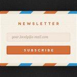 20个精美的登录和注册表单 PSD 素材-小李子的blog