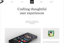 另类设计:15个现代简约设计风格网站设计实例-小李子的blog