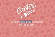 Captain Icon – 350+ 有趣的矢量图标免费下载-小李子的blog