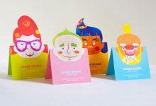 创意名片大全:一组精美的折叠效果名片设计-小李子的blog