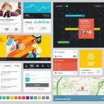分享一套精美的现代 UI PSD 工具包【免费下载】-小李子的blog