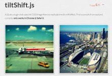 tiltShift.js – CSS3 实现移轴镜头-小李子的blog
