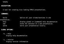 Hyhyhy – HTML5 演示文稿工具-小李子的blog