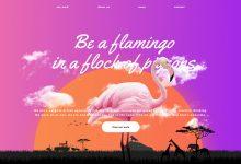 12个美丽网站,受到日出启发的配色方案-小李子的blog