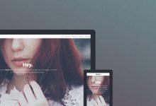 15款 HTML5/CSS3 响应式网页模板-小李子的blog