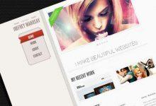 十款精美的免费单页网站PSD模板分享-小李子的blog