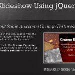 25个非常棒的jQuery滑块插件和教程-小李子的blog