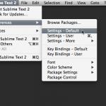 提高Sublime Text开发效率的简单配置-小李子的blog