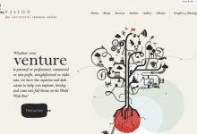 35个优秀的网站页眉页脚设计案例-小李子的blog