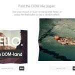 OriDomi – 像折叠纸张一样折叠 DOM 元素-小李子的blog