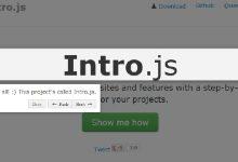 今日推荐:使用 Intro.js 创建绚丽的分步指南效果-小李子的blog