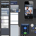 30套精美的 iDevices(iPhone, iPad, iOS)PSD 界面素材资源-小李子的blog