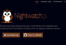 Nightwatch.js – 轻松实现浏览器的自动测试-小李子的blog