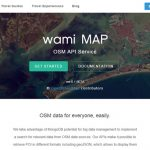 Wami Map Project – 开源的 OSM API 服务-小李子的blog