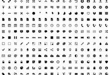 Subway Icon Set – 306个像素完美的特制图标-小李子的blog