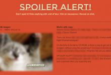 Spoiler Alert – 实现内容模糊隐藏效果的 jQuery 插件-小李子的blog