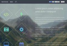 20款免费的响应式 HTML5 网站模板-小李子的blog