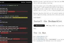 Manifesto – HTML5 离线应用程序缓存校验工具-小李子的blog