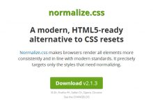 Normalize.css – 现代 Web 开发必备的 CSS resets-小李子的blog