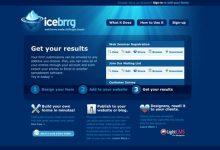 55个漂亮的蓝色风格网站设计(下篇)-小李子的blog