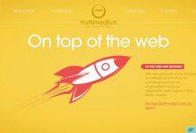 酷站欣赏:33个优秀的淡黄色风格网站设计作品-小李子的blog