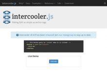 Intercooler.js – 让 AJAX 像锚标签一样简单-小李子的blog