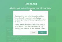 Shepherd – 在应用程序中轻松实现引导功能-小李子的blog