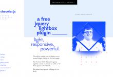 Chocolat.js – 响应式 jQuery Lightbox 插件-小李子的blog