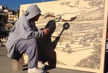 12幅艺术家用放大镜烫出的宏伟画作-小李子的blog