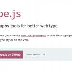Type.js – 帮助你更好的控制网页字体排版-小李子的blog