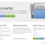Docverter – 文本文件轻松转换为 PDF,Docx 和 ePub 文件-小李子的blog